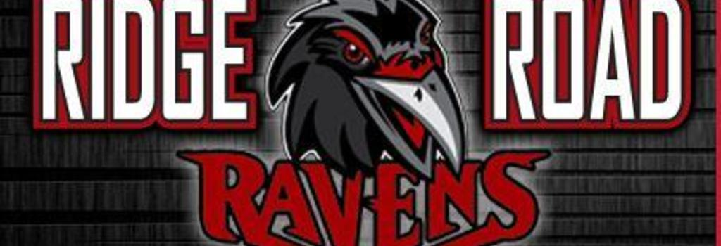 Raven Logo for Ridge Road which includes our mascot which is a Raven