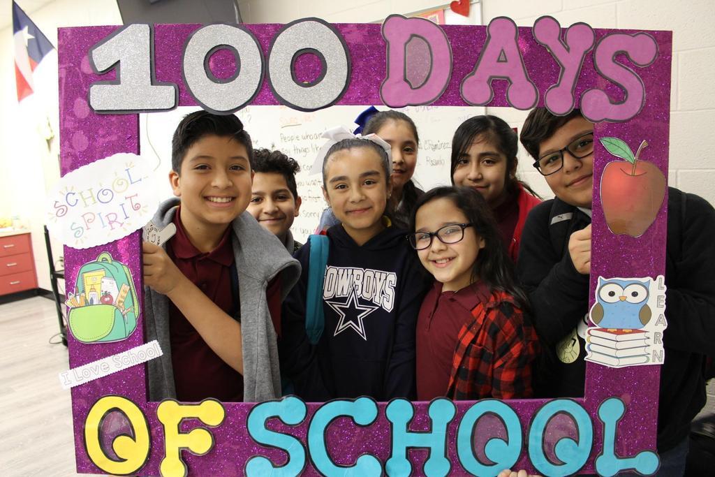 Celebrating 100 Days of School