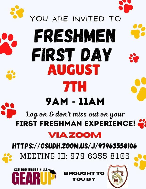 Freshman First Day