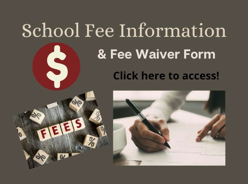 School Fee Information & Waiver Form