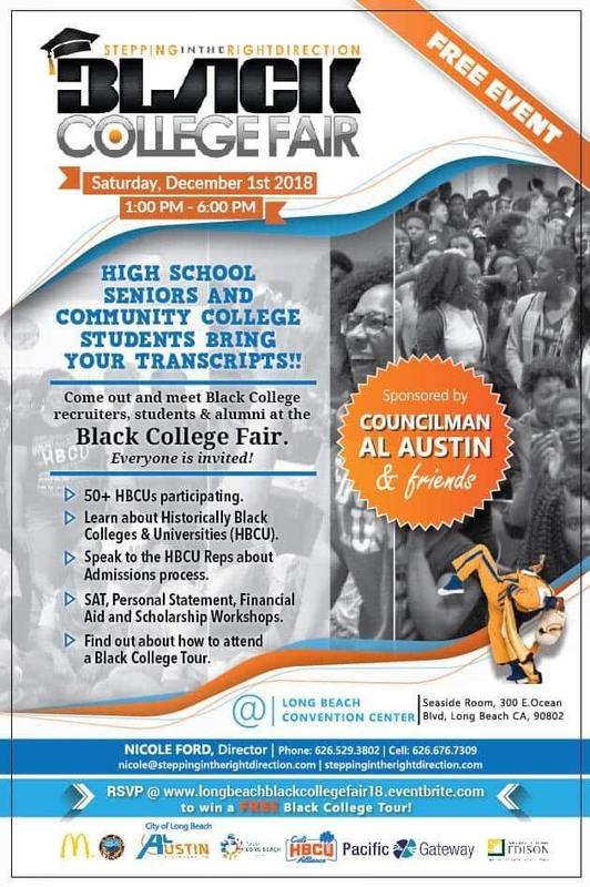Black College Fair at Long Beach Convention Center Featured Photo