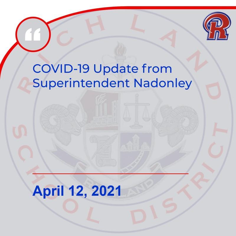 COVID-19 Update - 4/12/21 Featured Photo