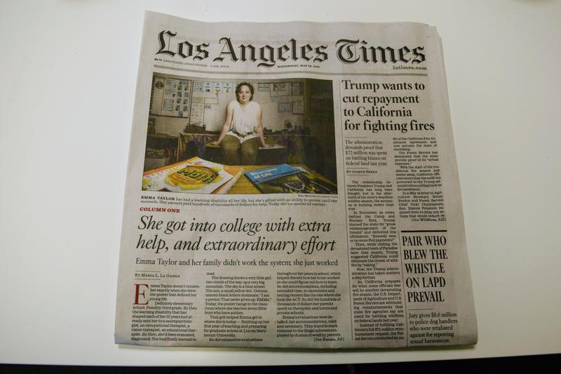 PCS Alum Featured in the LA Times! Featured Photo