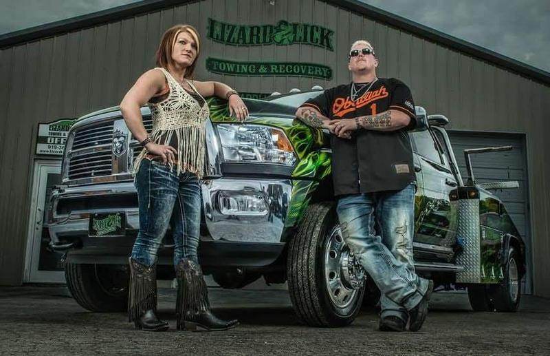 Ron & Amy Shirley of Lizard Lick Towing