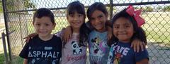 Students at recess
