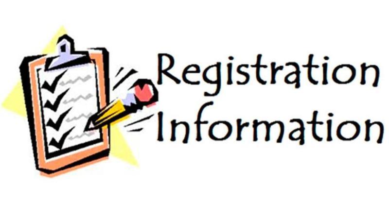 Clipboard- Registration Information