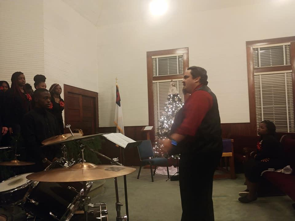 BCHS Chorus 2019-2020 School Year - Christmas Program Vidette United Methodist Church