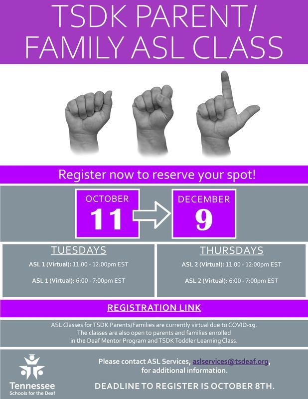 Family ASL Class