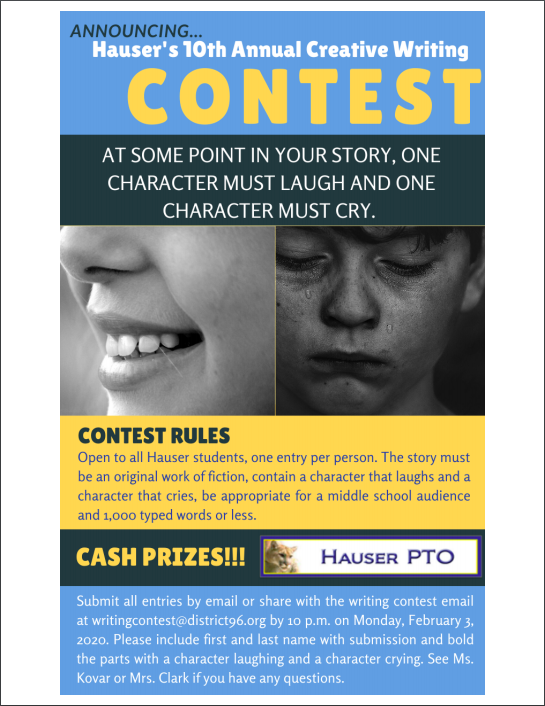 Writing Contest Featured Photo