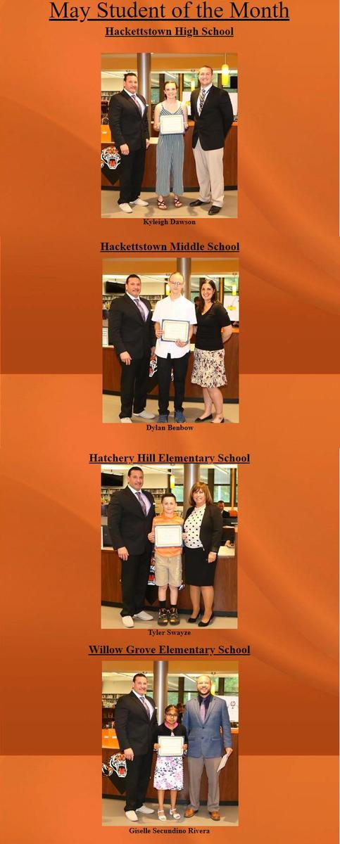 Student of the Month May 2019