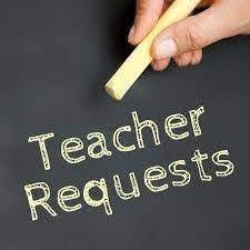 TEACHERS Click Here to Request Supplies/ Supplemental Materials/Repairs Featured Photo