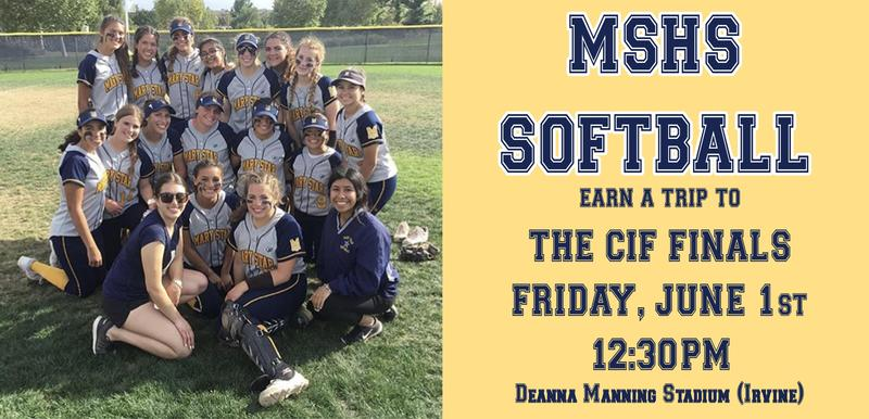 MSHS Softball Headed to the FINALS! Featured Photo