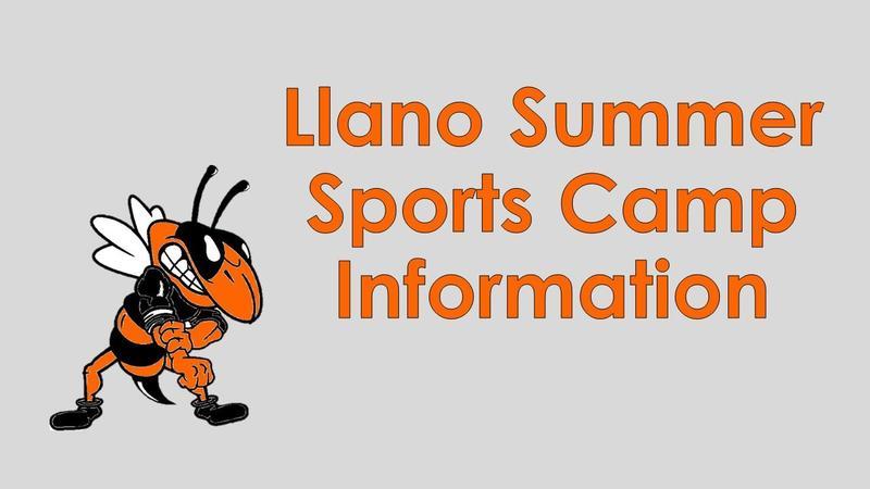 Llano Summer Sports Camp Information