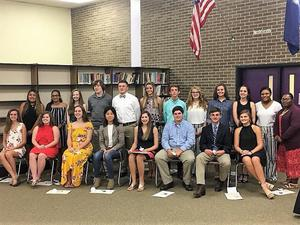 23 Students Inducted Into B-L High School Beta Club