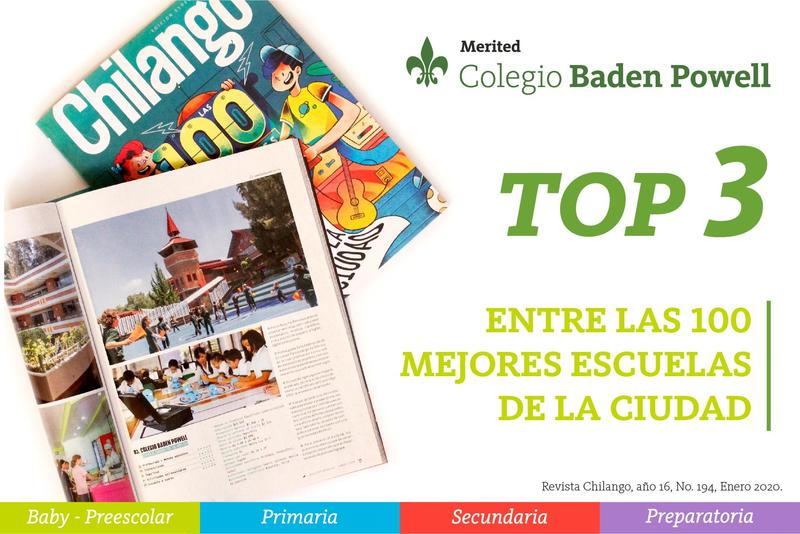 ¡El Colegio Baden Powell dentro del Top 3 de las 100 mejores primarias de CDMX! Featured Photo