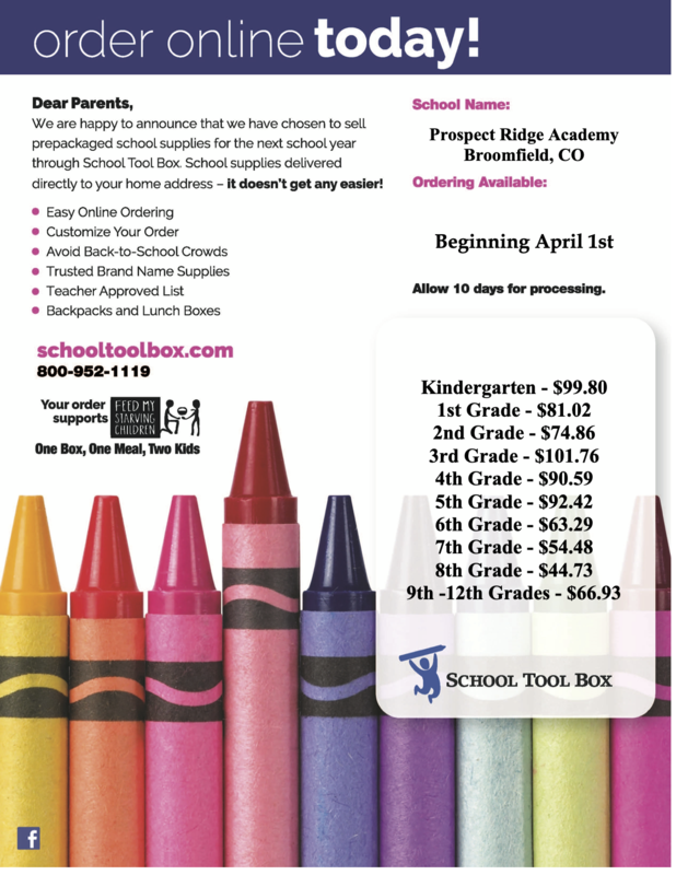 2021-2022 School Supply Lists are here! Thumbnail Image