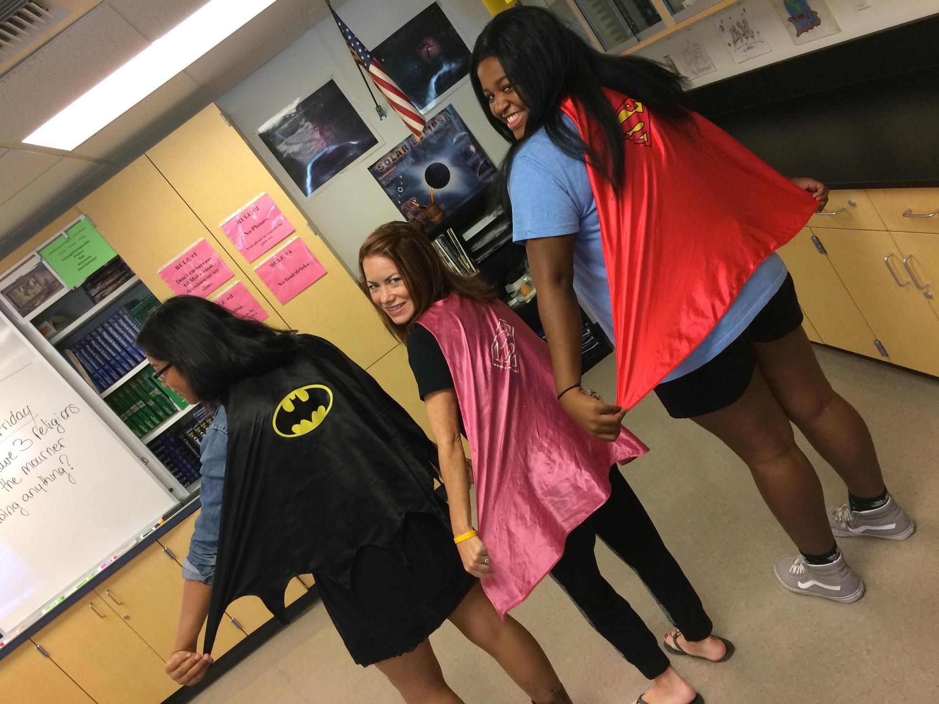 Students are Super!