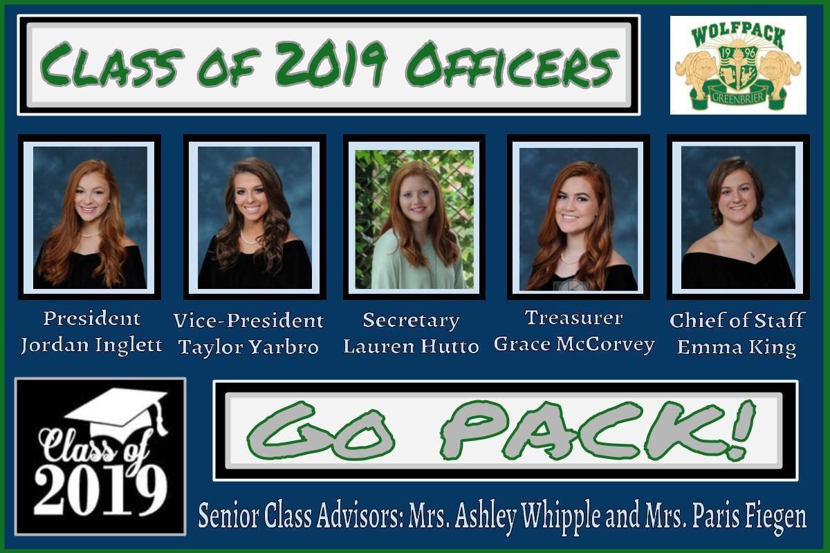 Senior Class Officers