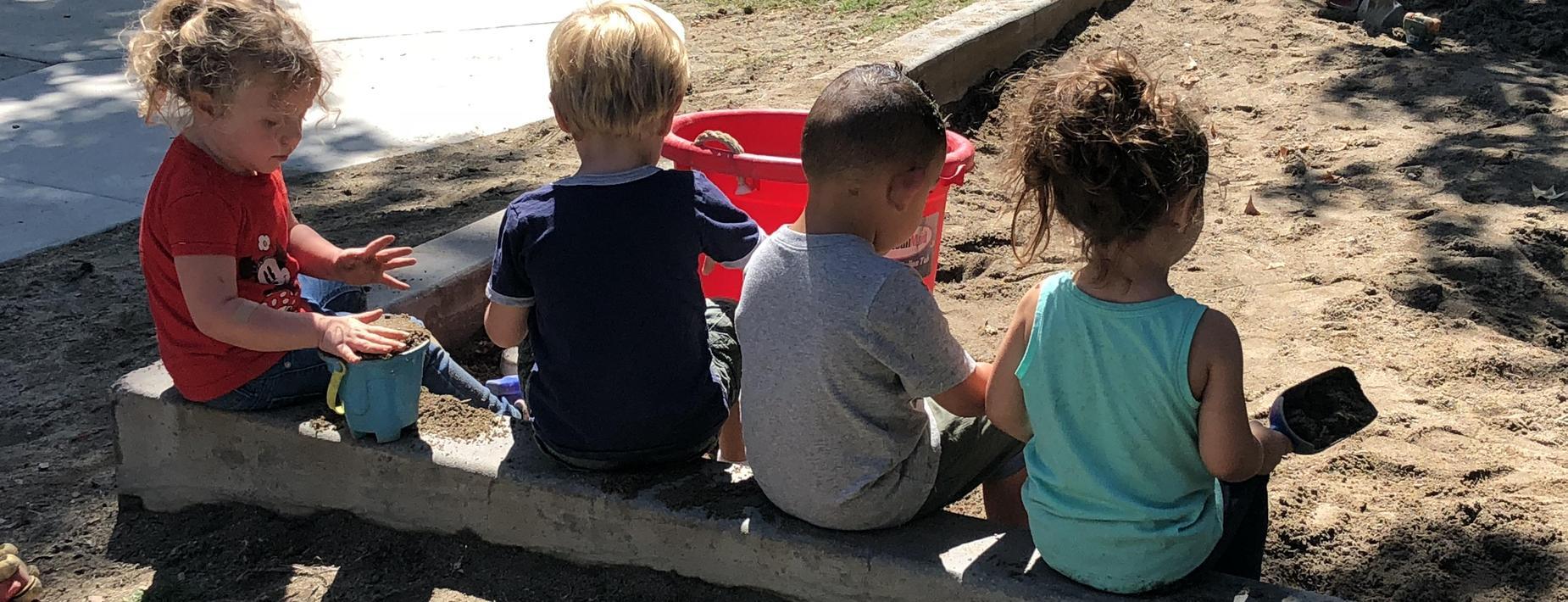 Preschoolers at Recess