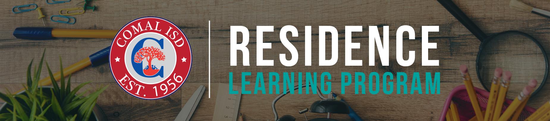 Residence Learning Program Banner