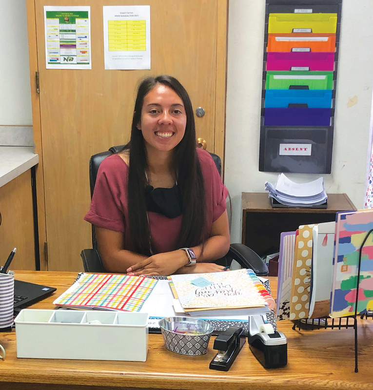 New Deal ISD Welcomes Coach Isabell Carrion to HS Math Department, Coaching Staff Featured Photo