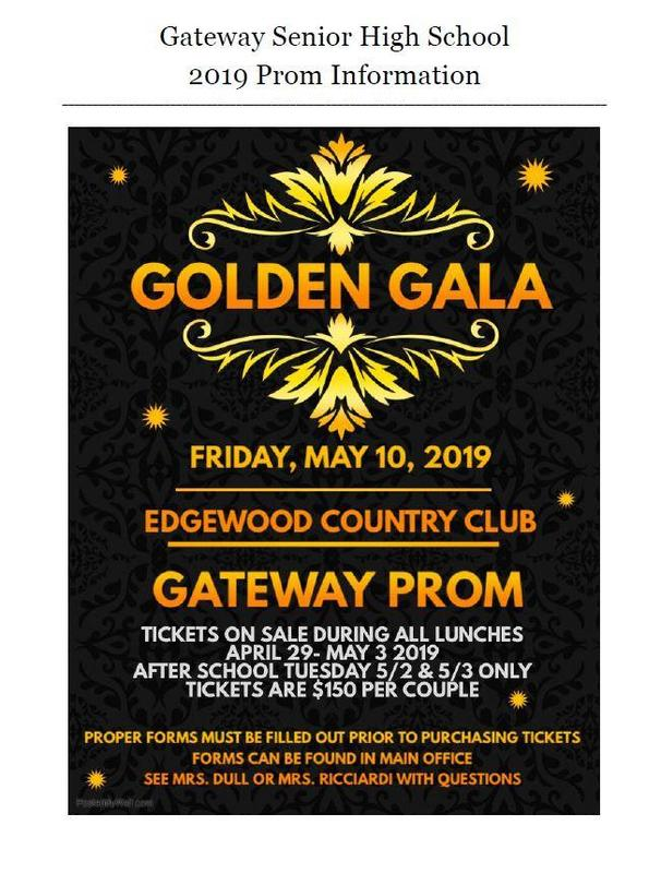Important Prom Information Thumbnail Image