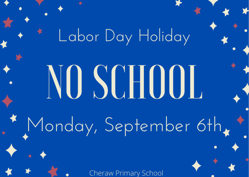 No School, Monday, September 6th Featured Photo