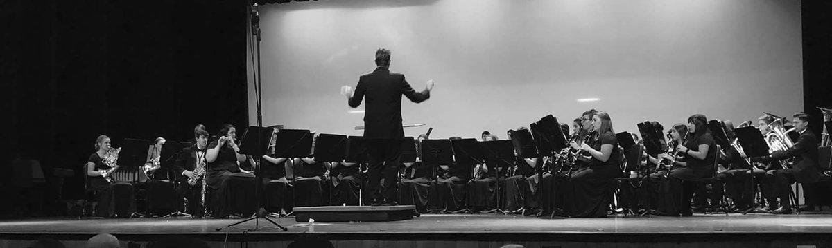 Concert Band Photo in Black and White