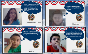 Students' dream quotes collage