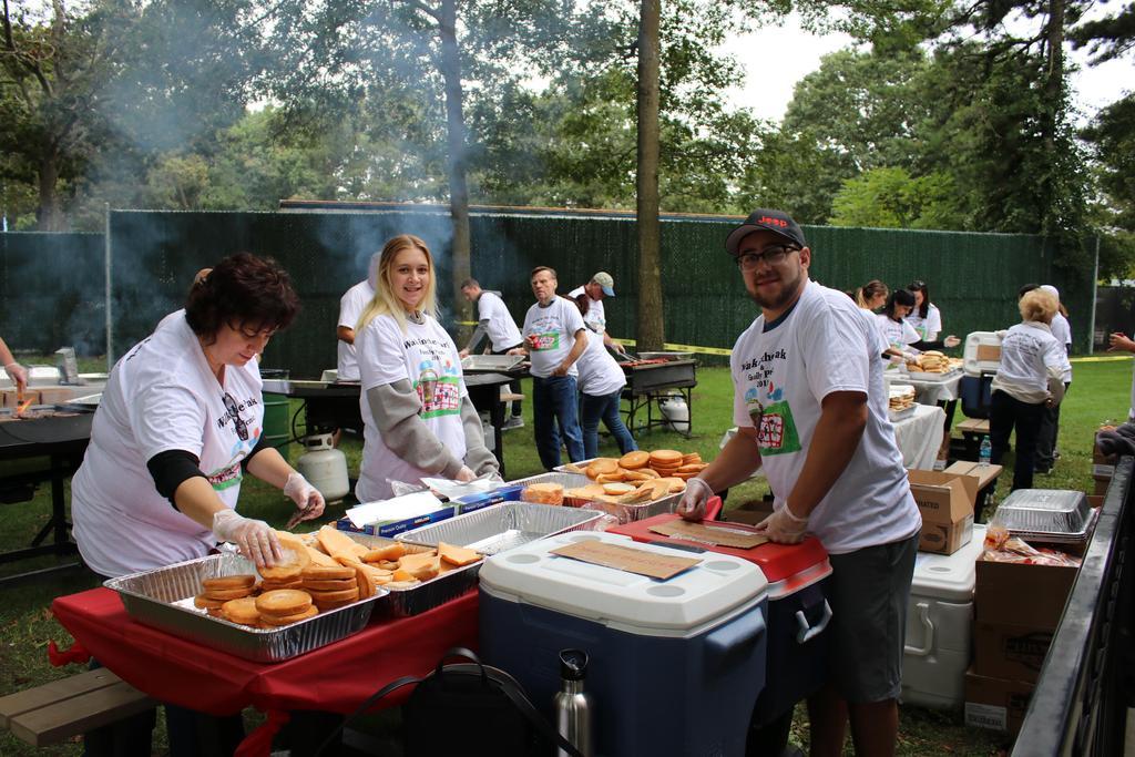 DDI Walk volunteers