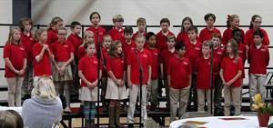 third and fourth grade chorus