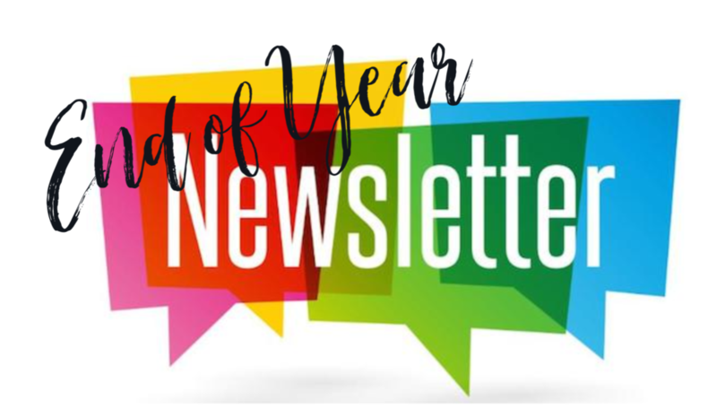 End Of Year Newsletter Featured Photo