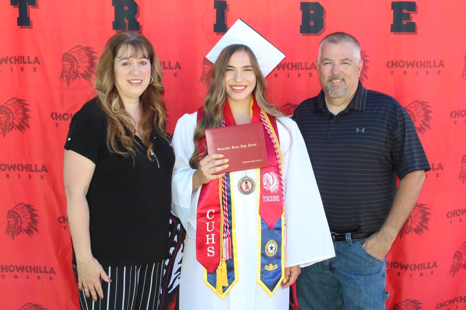 Christina Fuller and family