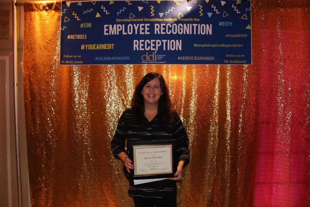 30-Year Service Award recipient