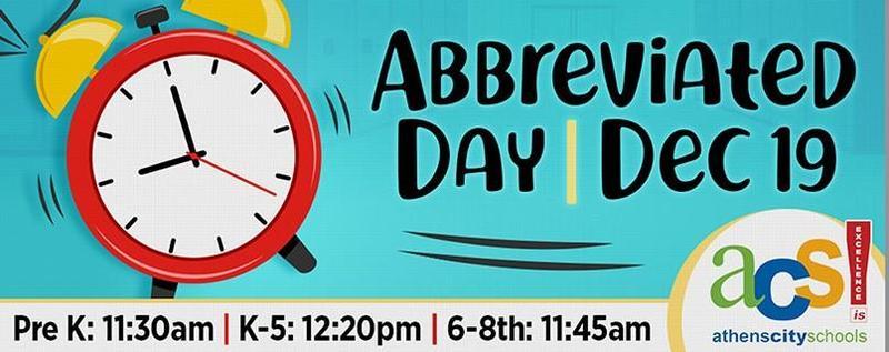 abbreviated day