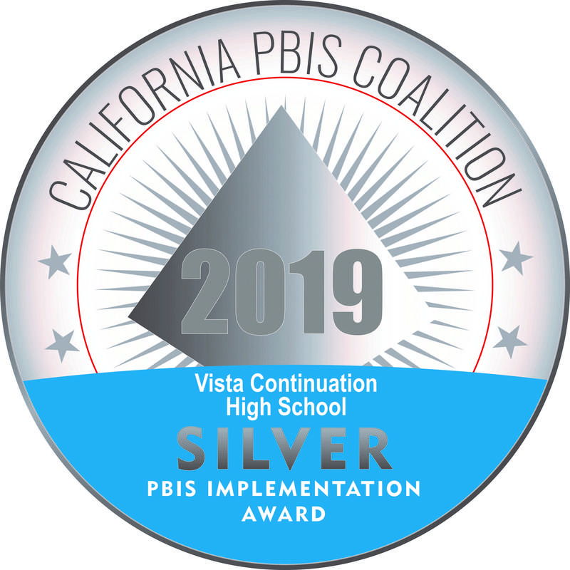 Vista High School is a PBIS Silver Award Winner for 2018-2019 Thumbnail Image