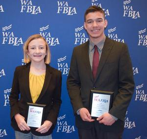 cms fbla students honored