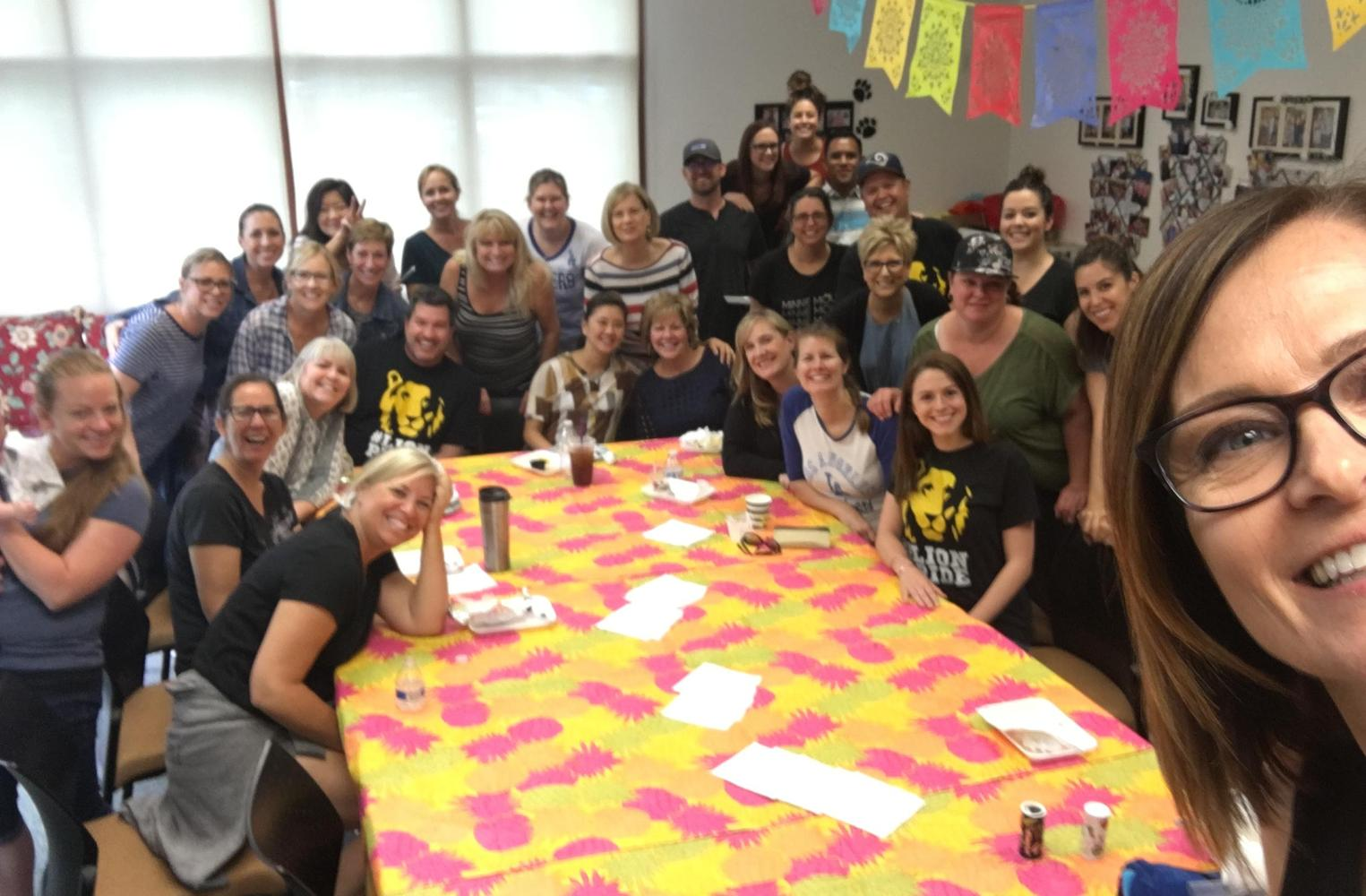 Last staff day of school - June 2019