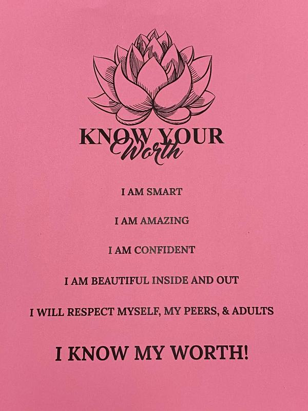 Know Your Worth mission