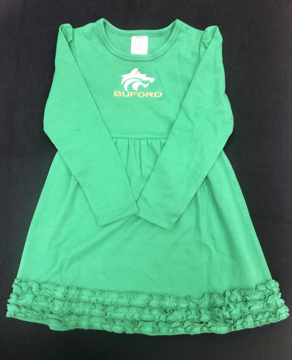 Green Longsleeve Dress