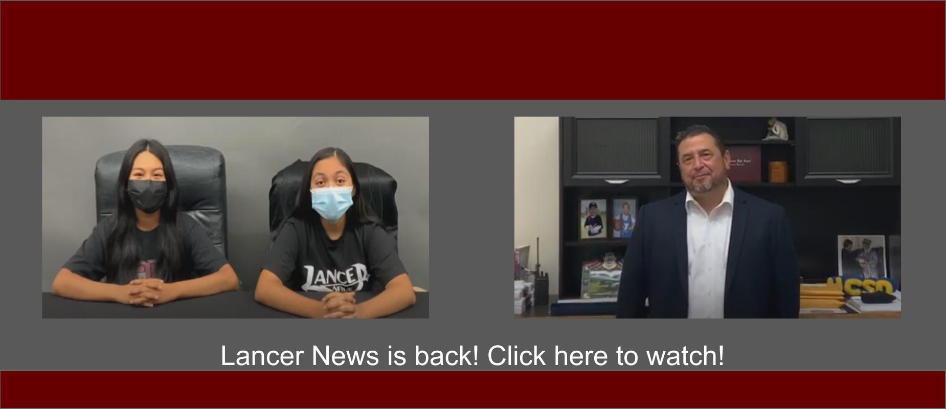 Lancer News Video Link