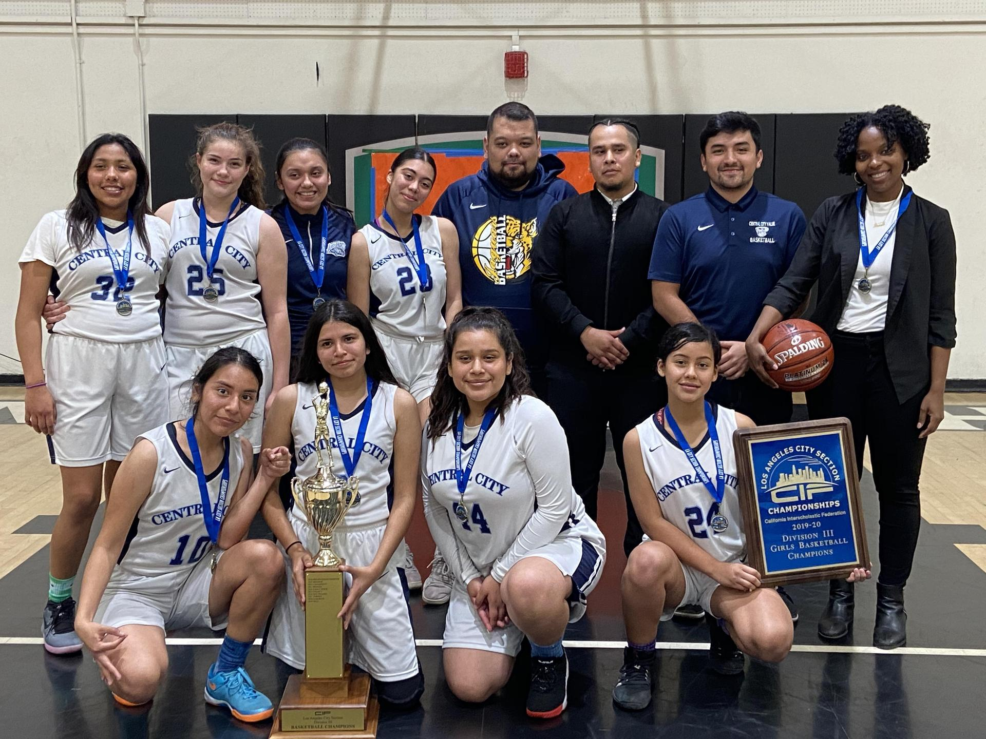 Girls Basketball 2019-2020: CIF Los Angeles City Section Division III Champions