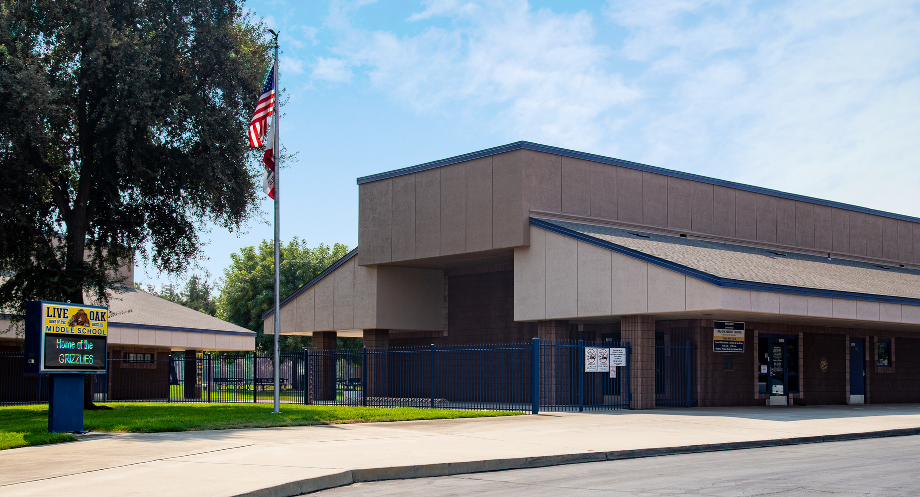 Live Oak Middle School Office Building