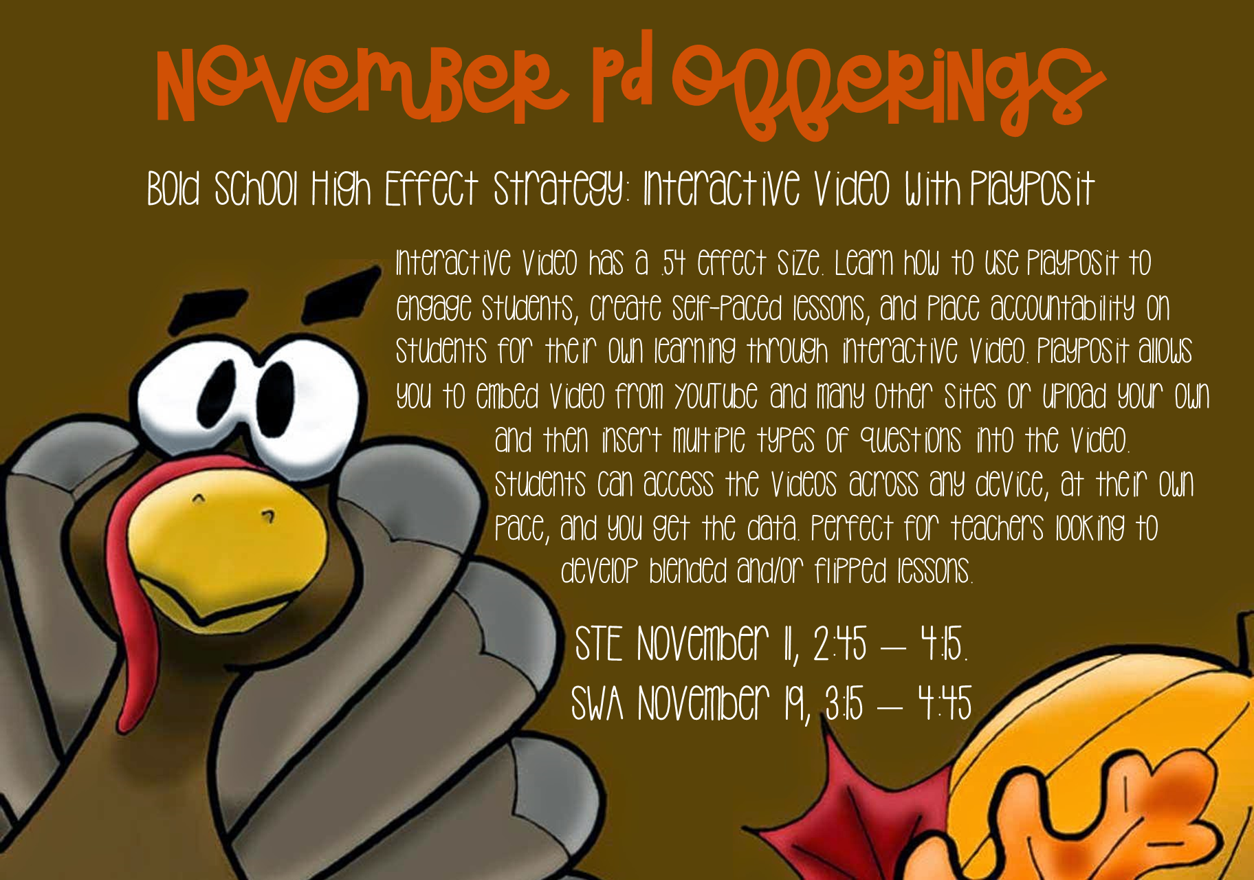 November PD