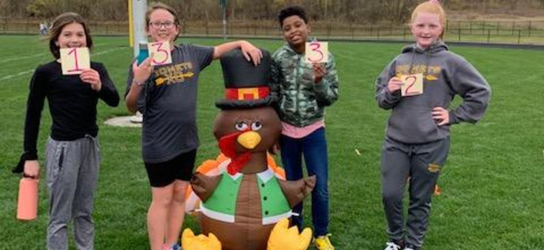 6th Grade Turkey Trot Winners