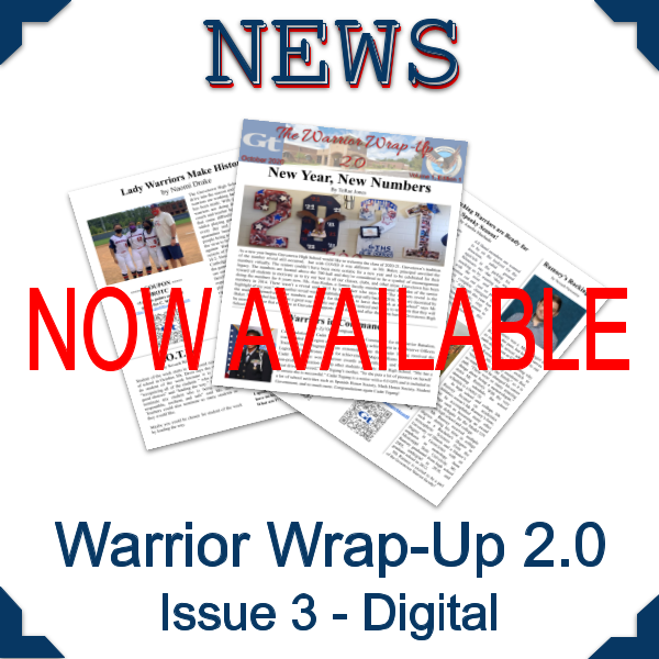 Warrior Wrap-Up 2.0 - Issue 3 Featured Photo