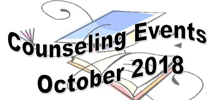 Counseling Events October 2018 Thumbnail Image