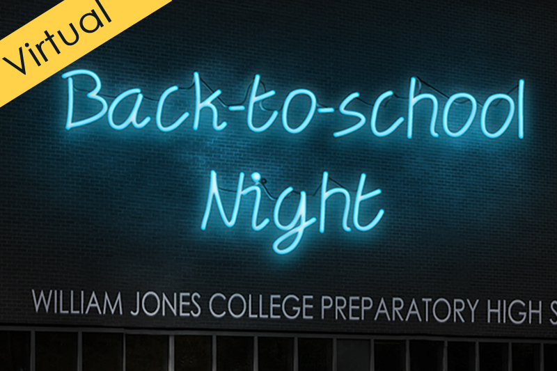 Image Virtual Back to school night