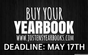 YEARBOOKS ON SALE UNTIL MAY 17, 2019