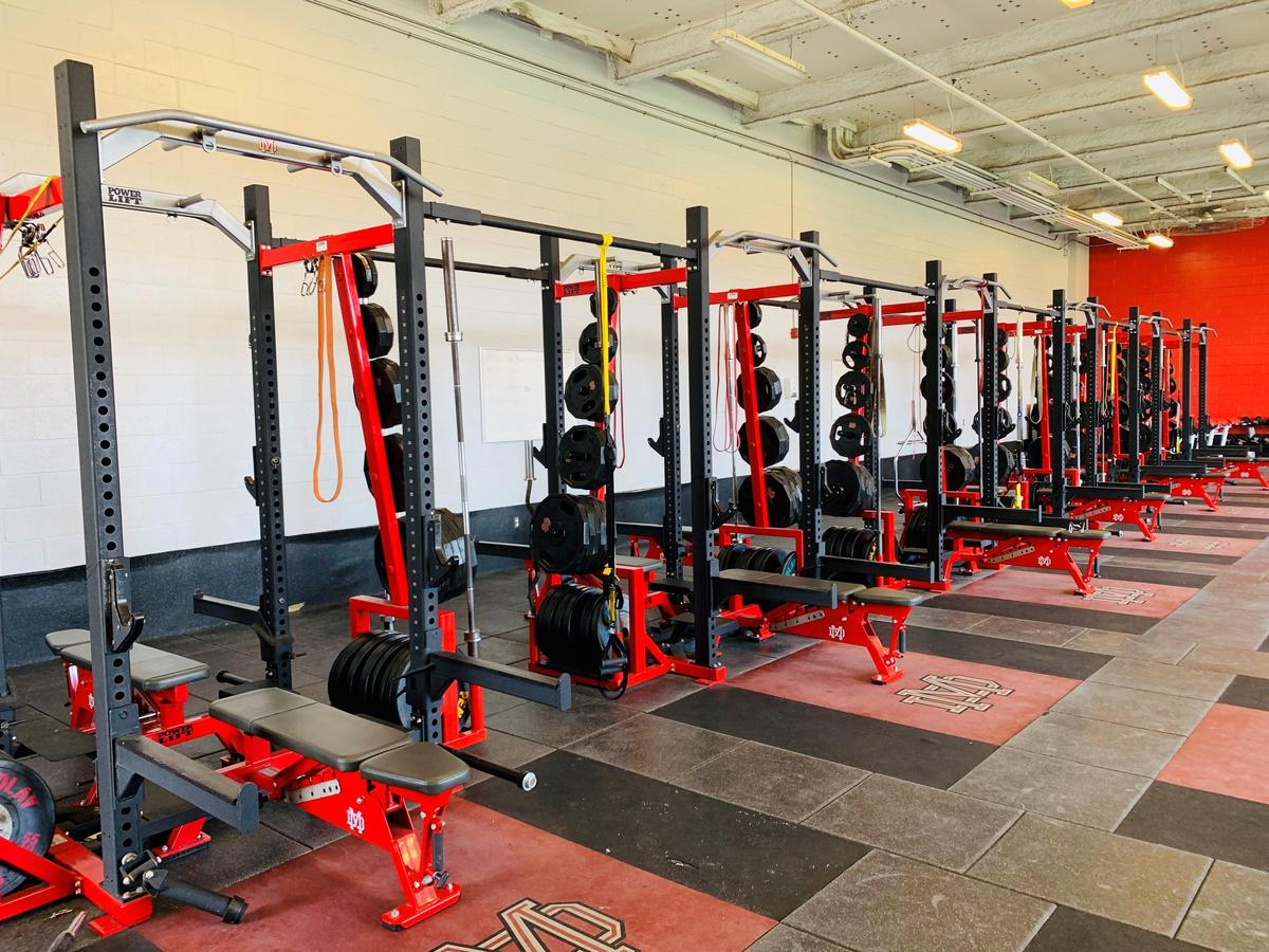 Strength and Conditioning – Inside Athletics – Mater Dei High School
